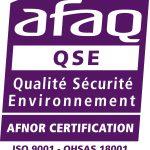 AFAQ_Logos ISO OHSAS
